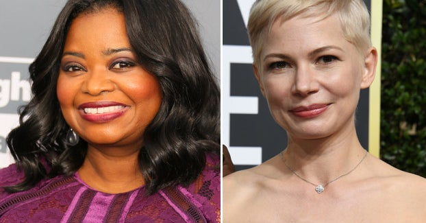 Octavia Spencer Defended Michelle Williams Over The Mark Wahlberg Pay Scandal