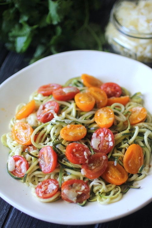 Crank out these zoodles and have dinner on the table in no time.Here's the recipe.