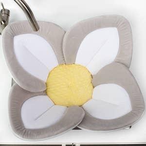 水槽内花形防滑浴垫