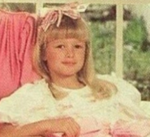 "You might look at this picture of 7-year-old Paris Hilton and think ""aww what a cute girl!"" BUT IN REALITY, THAT 7-YEAR-OLD WAS ALREADY PLOTTING WORLD DOMINATION!!"