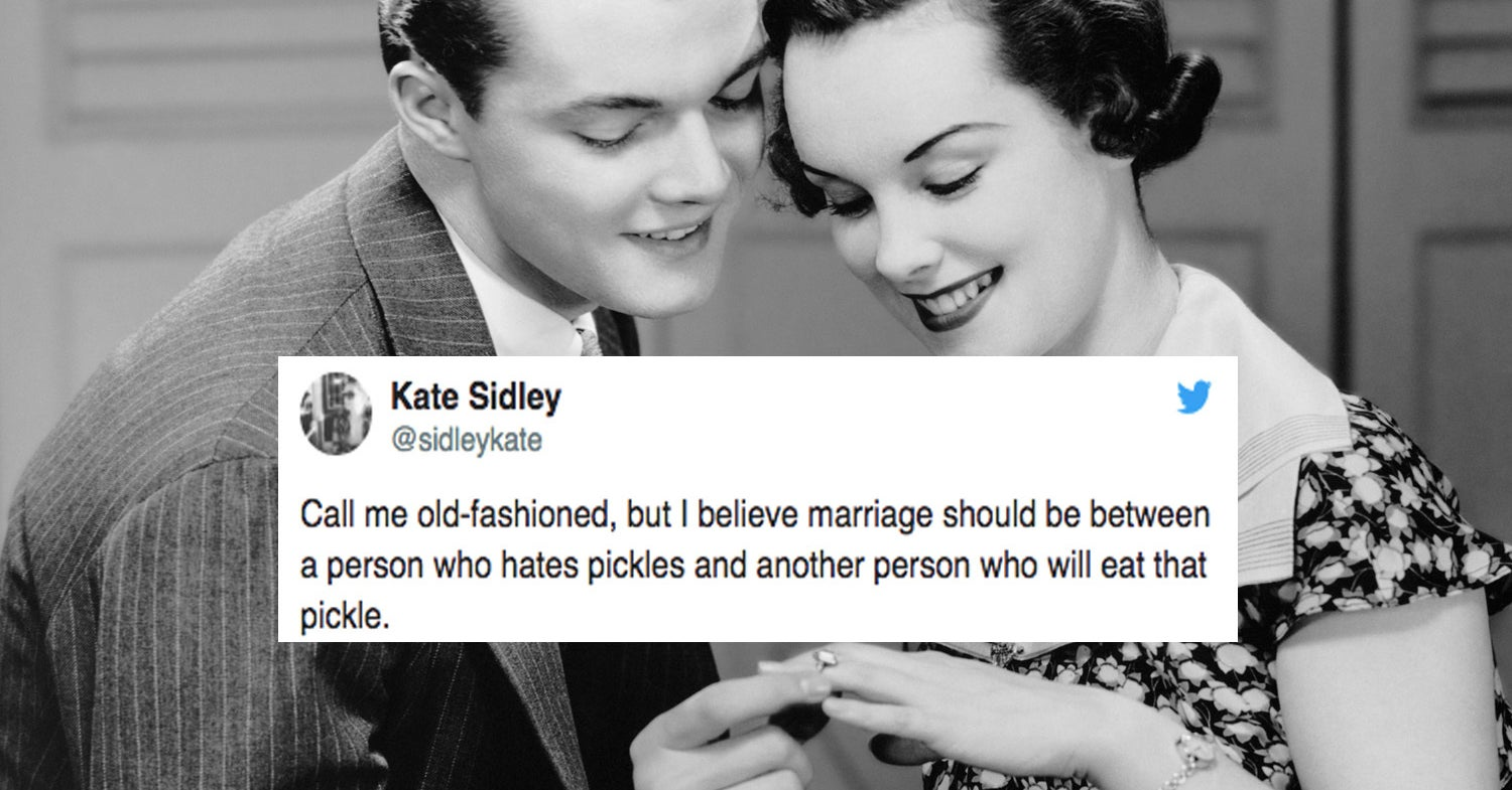 21 Tweets About Marriage That Have Nothing In Common Except For Being Painfully Accurate
