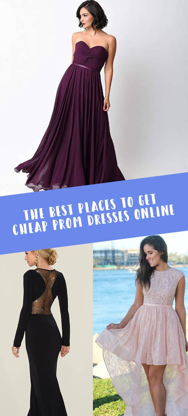 608d698573fec 23 Of The Best Places To Get Cheap Prom Dresses Online. Look like a million  bucks ...