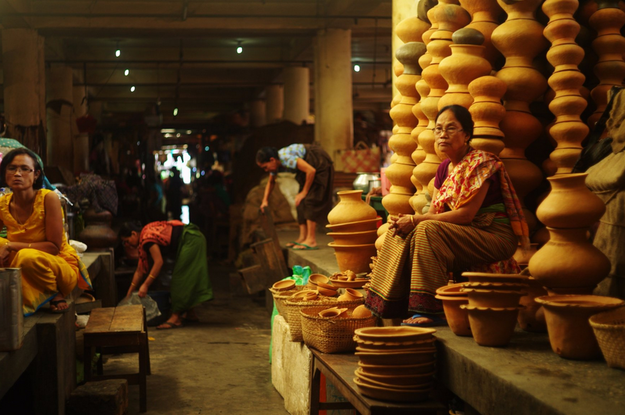 Ima means mother in Manipuri and, as the name suggests, it is a market solely run by mothers and women. Men are not allowed to sell things in the market. Everything from household items to vegetables to dry fish to handlooms and handicraft products can be found here.