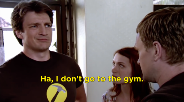 You don't go to the gym because the gym is overrated