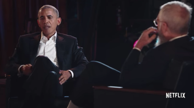 Barack Obama was on David Letterman's new series, My Next Guest Needs No Introduction, where he talked about moving Malia into Harvard last summer.