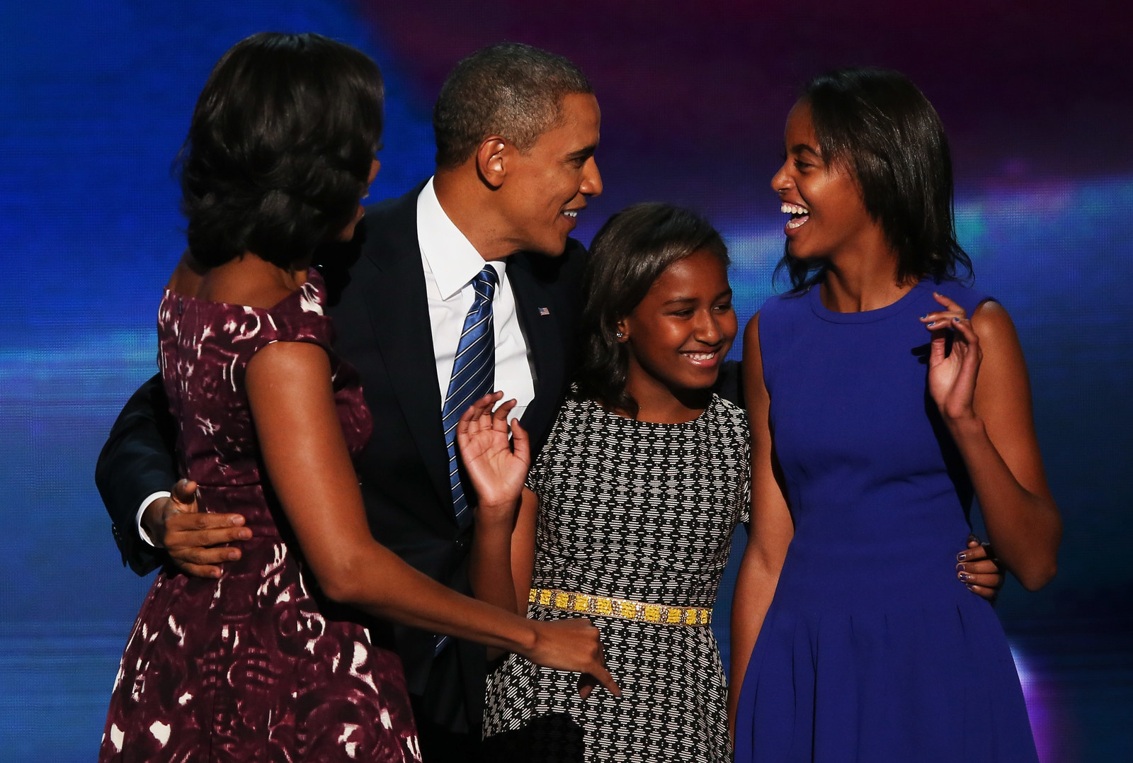 This Is What Malia Obama Texted Barack After He Failed At Moving Her Into College