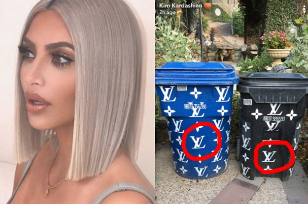 Kim Kardashian Shared A Picture Of Her Fancy Trash Cans And They'll Make You Do A Double-Take