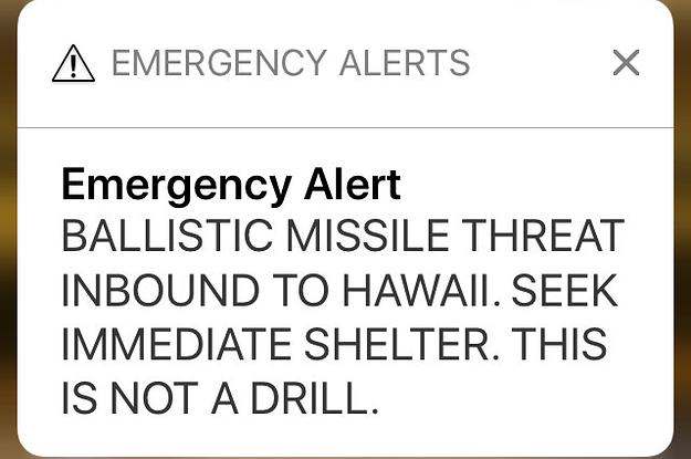 I'm In Hawaii And Just Got The Scariest Alert Of My Life. Here's What I Did Next.