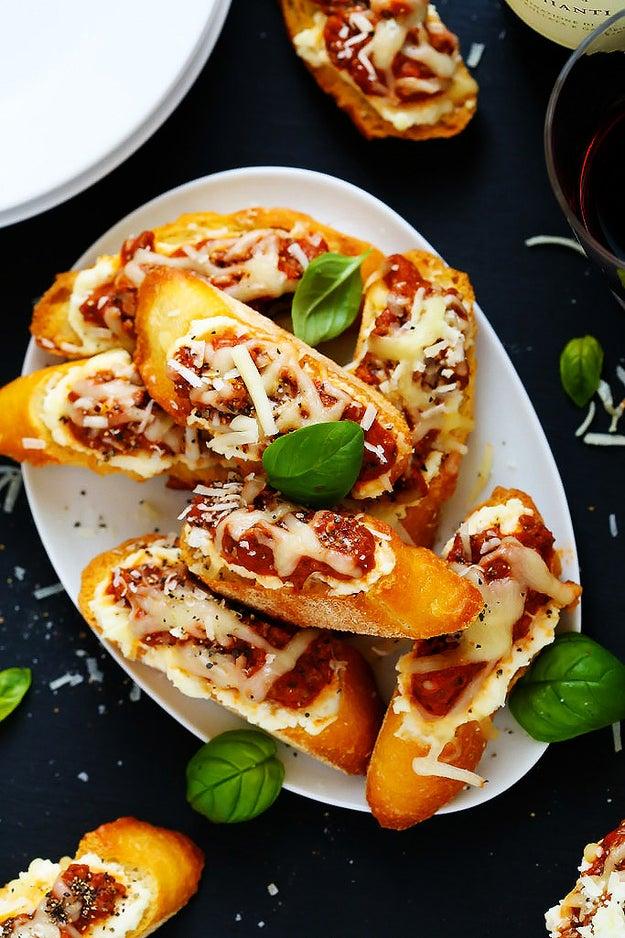 Lasagna Crostini