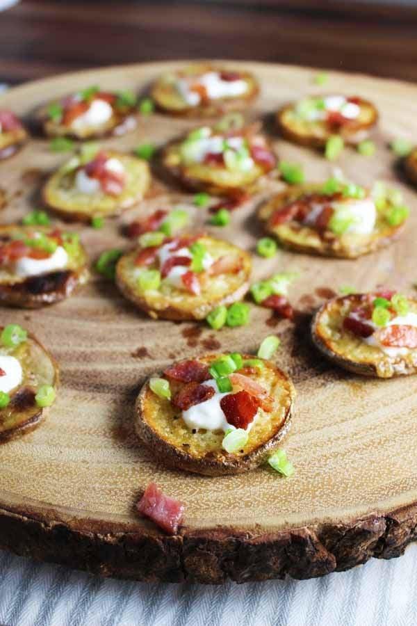 Easy Loaded Baked Potato Bites