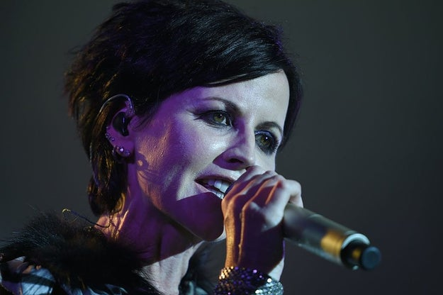 Dolores O'Riordan, who was the lead singer of the Cranberries, has died.
