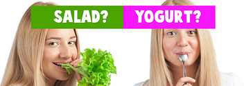 Eat A Meal Of Salad And Yogurt And We'll Guess Your Exact Age