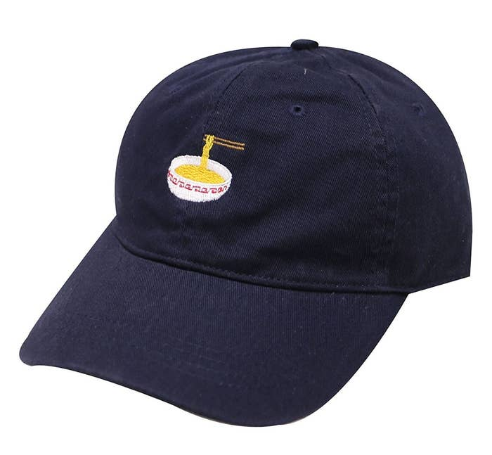 A baseball hat that shows your dedication to one of the best foods out  there  ramen! 122b472350c4