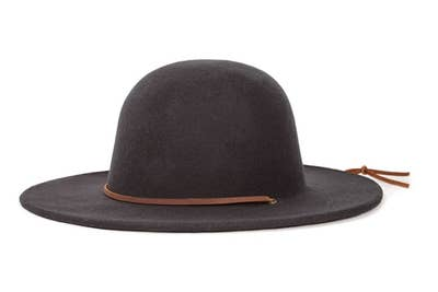 7d0ee987 A wide brim felt hat to make you look pulled together even on days you're  definitely not.