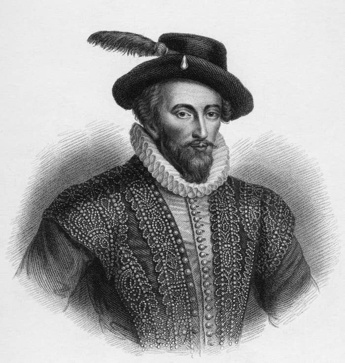 In 16th century England, sumptuary laws — laws which attempted to create class distinctions and define social norms — regulated the feathers that each class was allowed to wear. First of all, everyone over the age of 13 was required to wear a hat, which seems prettttty wild. Lower classes were relegated to wearing goose, duck, chicken or grouse feathers, while upper classes were allowed to wear peacock, ostrich, egret, swan or pheasant feathers. Anyone from a lower class spotted wearing a pheasant feather was labeled an imposter and could be put to death.