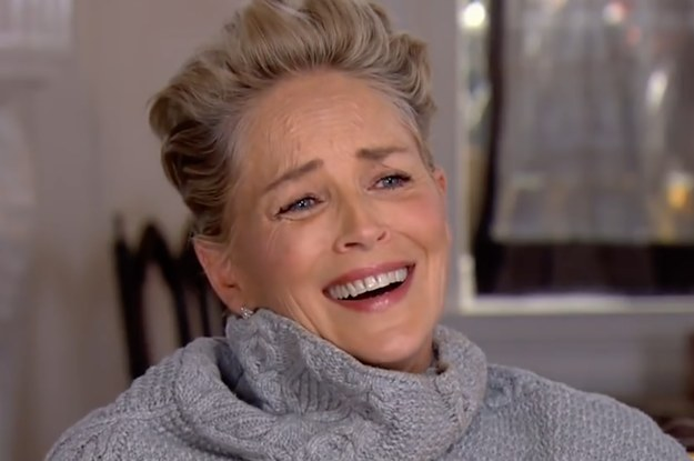 Sharon Stone's Reaction To Being Asked If She's Ever Faced Sexual Harassment In Hollywood Is Iconic