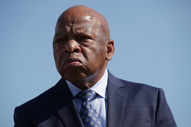 John lewis says he gets taunted by people who yell trump - John lewis shopkins ...