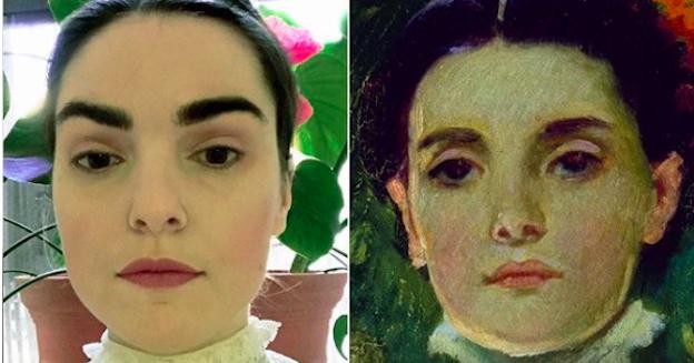 Show Us Your Art Doppelgänger