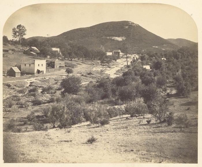 Mount Ophir, California, 1859–60. Photograph by Carleton Watkins.