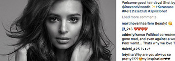 People Are Mad At Emily Ratajkowski For An