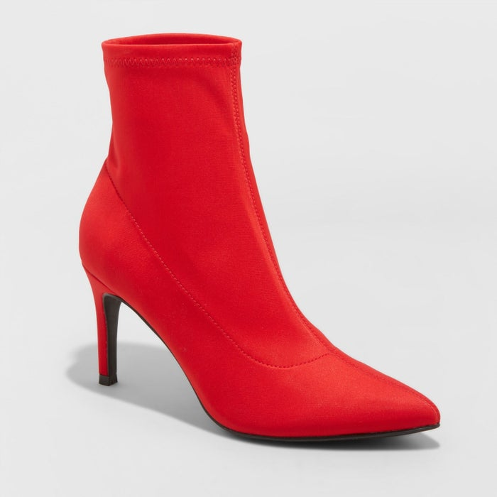 """Promising review: """"Amazing and so on trend! I bought the red. Compliments the first time I wore them out. Very comfortable! Great heel height. I love love love them!!"""" —StandingTallPrice: $37.99 (available in sizes 5–12 and three colors)"""