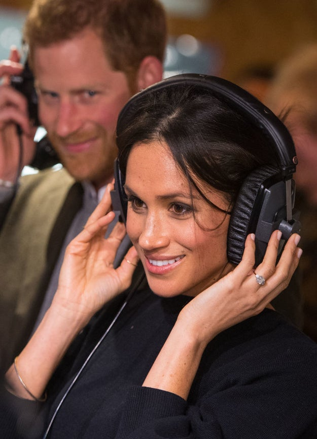 When Harry couldn't keep his eyes off Meghan.