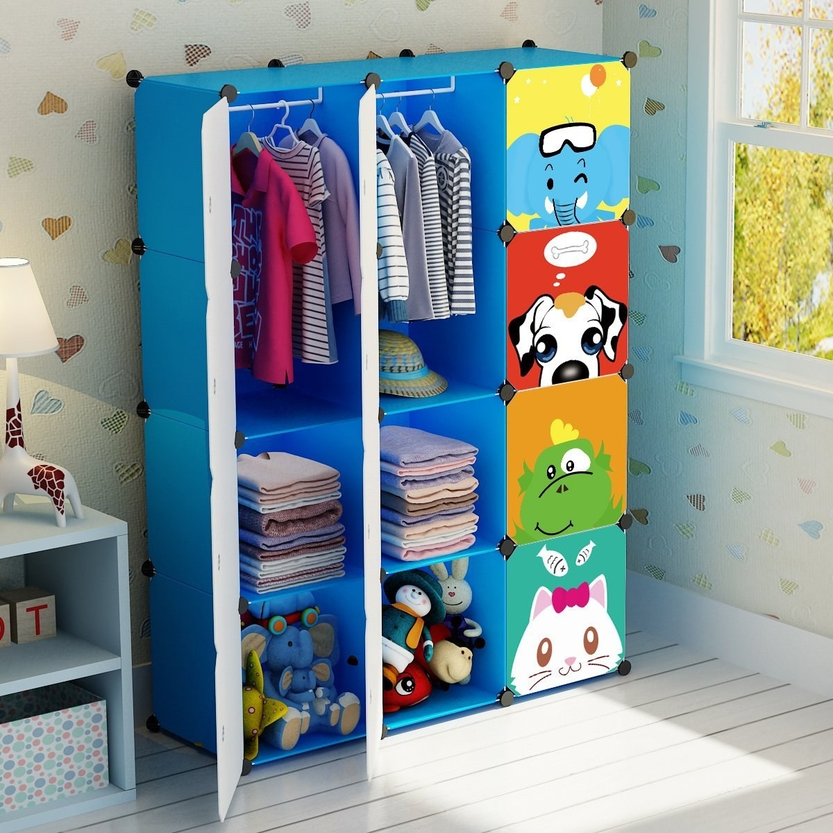 Children S Armoire Closet An Easy Storage Solution: 36 Ridiculously Clever Storage Ideas For All Your Kid's Stuff