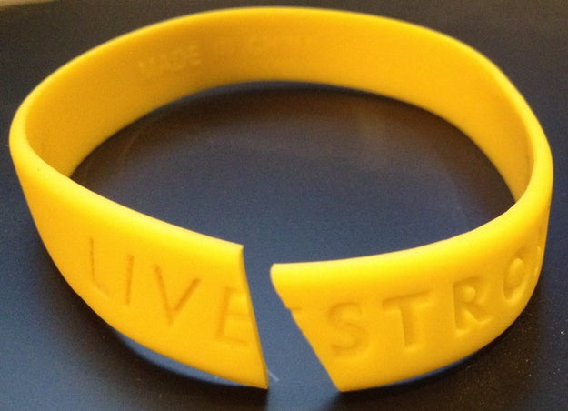 The Livestrong bracelet is younger than they are: