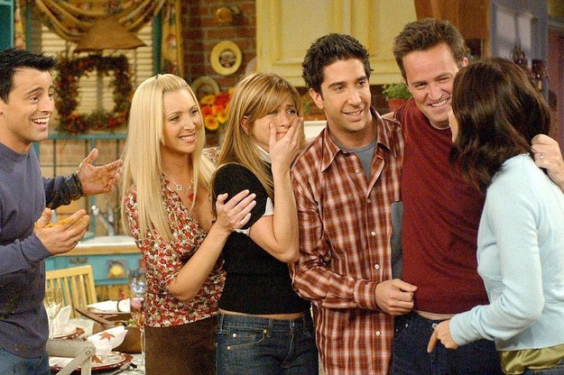 Or a world where Friends has been on air: