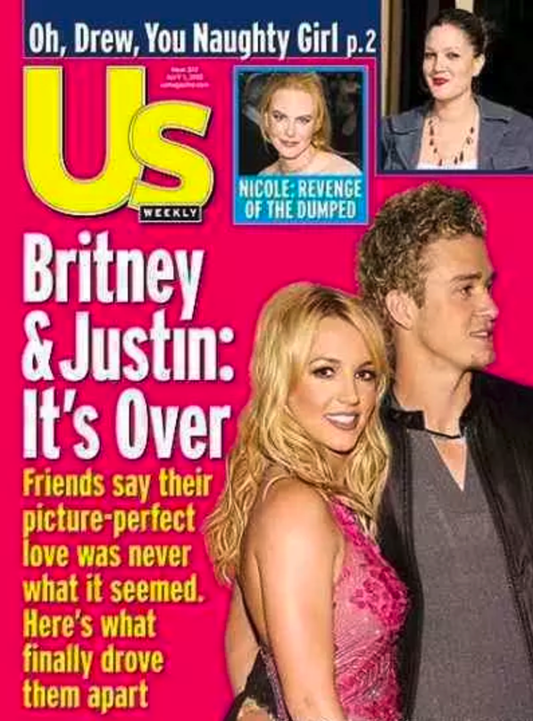 They've never been alive while Britney and Justin have been a couple: