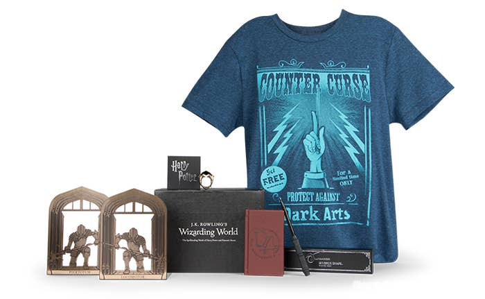 908451c80 A Harry Potter Loot Crate that will feed your magic obsession, since you  can't go to Hogwarts for real.