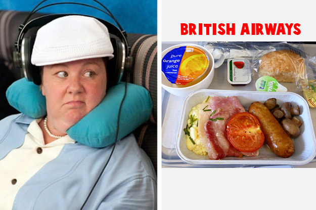 Rate These Airplane Meals And Well Reveal Where You Should Really Live