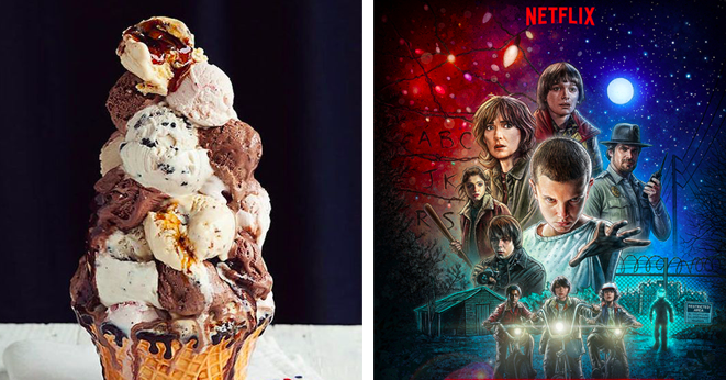 Create The Ultimate Sundae And Find Out What Netflix Show To Binge Watch
