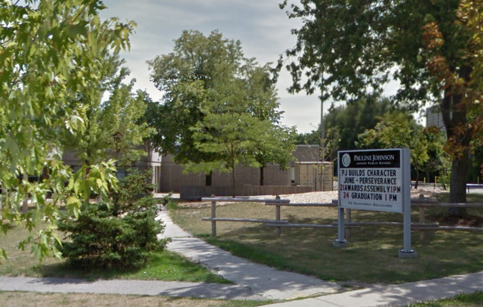 The Scarborough public school where a student claimed to have been attacked.
