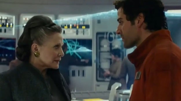 They also edited out every time Leia yells at Poe.