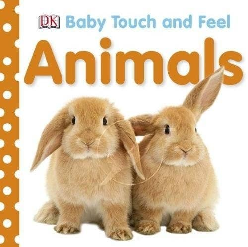 I love to give these books as a gift. They're board books that have loads of textures on each page (ie fluffy for rabit, scaly for snake) and are perfect for young babies. There's loads of options, and they start at £3.99.