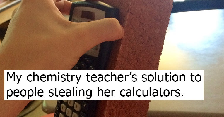 17 Teachers Who Were Kind Of Assholes, But Really Funny Assholes