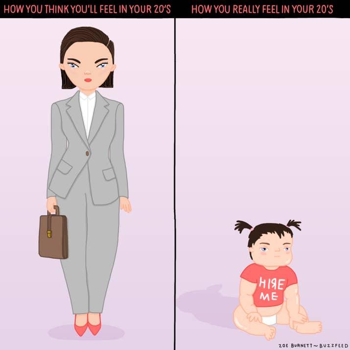 25張「只有女生才看得懂」20代女生的日常煩惱