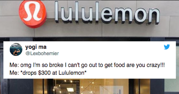 c320879fc3 18 Tweets For Everyone Whose Lululemon Obsession Is Out Of Control