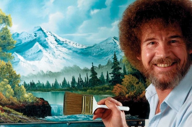 Create The Perfect Bob Ross Painting And We'll Reveal What % Chill You Are