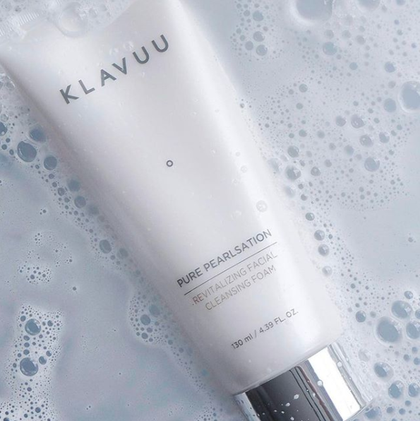 Klavuu Pure Pearlsation Revitalizing Facial Cleansing Foam is a great water-based cleanser to remove any remaining impurities after your oil cleanser.