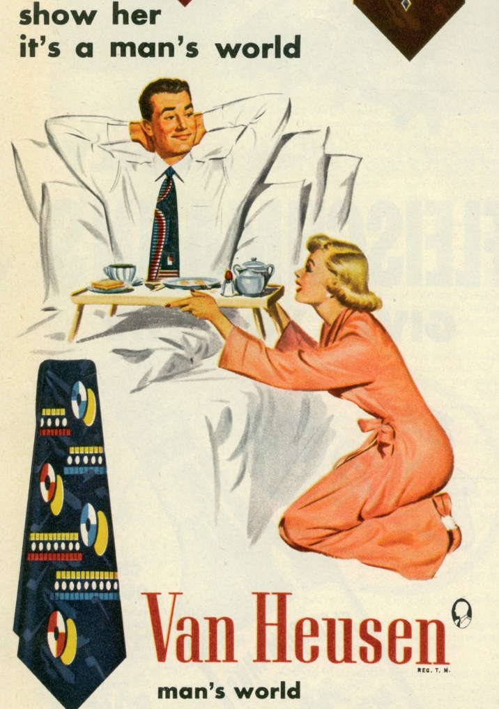 An Artist Reversed The Gender Roles In Sexist Vintage Ads To
