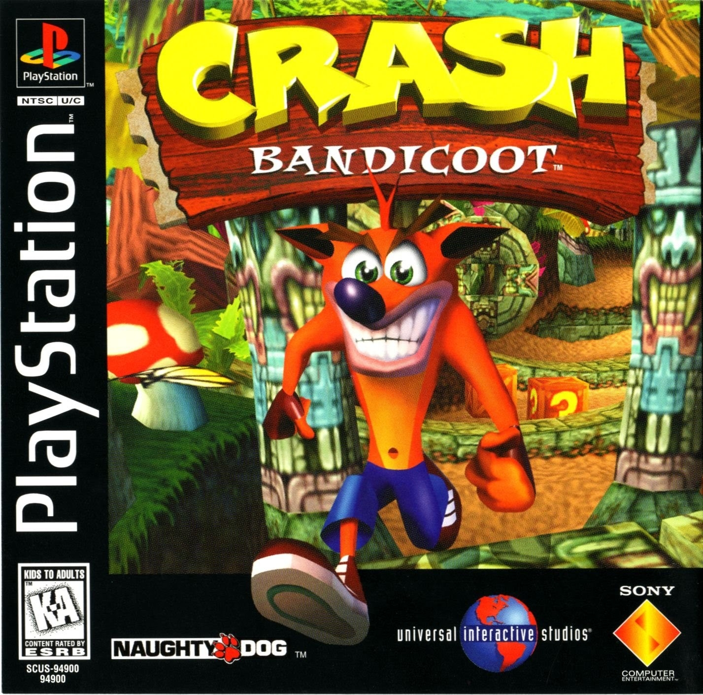 The Crash Bandicoot series