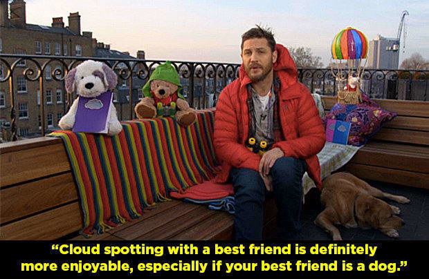 He's also appeared on numerous TV shows revealing his love for pooches.