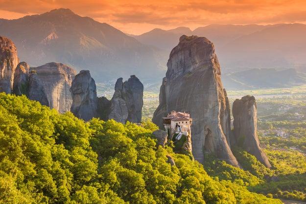 5. Die Felsenklöster von Meteora in Griechenland: