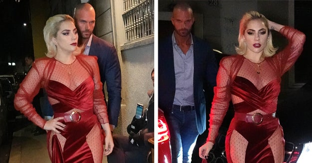 Lady Gaga Looking Like Art With Her Hot AF Bodyguard Is The Stuff My Gay Dreams Are Made Of