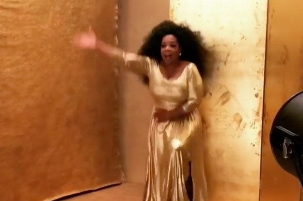 I 100% Guarantee That Watching This Video Of Oprah During A Photo Shoot Will Make You Feel Less Shitty