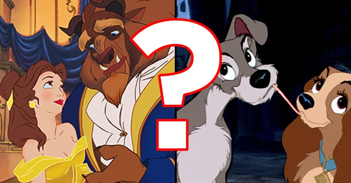 Are You And Your Significant Other Living The Same Disney Love Story?