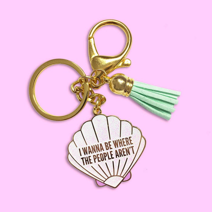 """Promising review: Not gonna lie...bought this as a Christmas present and when I got it in the mail, it was too cute to give it away and now it's on my keys! Whoops!"""" —ChelseaGet it from UnicornRockStar on Etsy for $15."""