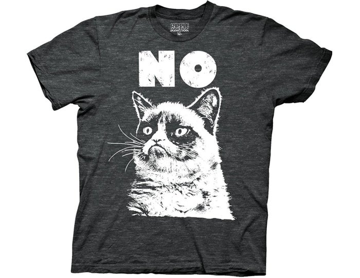"Thanks, Grumpy Cat!Promising review: ""Impressed — this is one of the softest printed T-shirts I own. The print quality is good."" —OC-AdamGet it from Amazon for $19.95 (available in sizes S–XXL)."